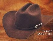 ID#PN50 western  hat tejanas Texas Style 4X Felt Hats By Authentic Los altos Coco Chocolate brown