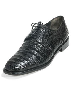 ID#MK826 Authentic Los altos Genuine Caiman skin Belly Cap Toe Dark color black Cheap Priced Exotic Skin Shoes For Sale For Men Los altos Genuine Caiman skin Belly Cap Toe Dark color black Formal Shoes For Men