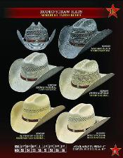 Rodeo Straw Hat