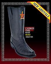 skin Tail Biker Boots