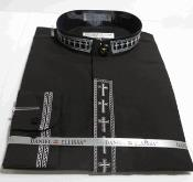 Banded Dress Shirt with