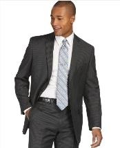 Mantoni Brand Suit Charcoal