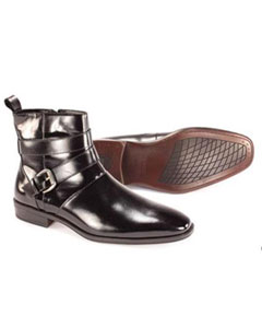 Mens Black Dress Boots