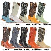 Ostrich western  Boots