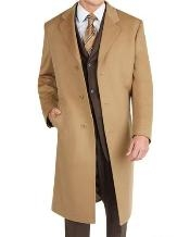 Dress Coat Long Wool