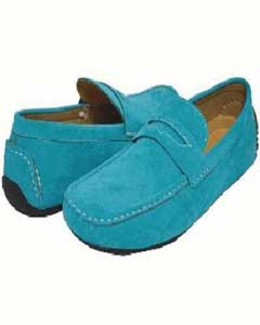 Tone Turquoise Driving Shoes