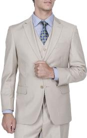 Mens Button Beige suit