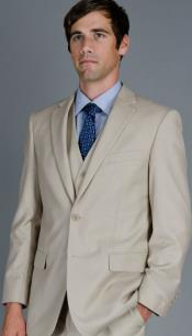 Mens Beige suit