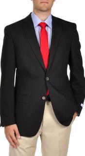 Calvin Klein 2-Button Mabin Best Cheap Blazer For Affordable Cheap Priced Unique Fancy For Men Available Big Sizes on sale Men Affordable Sport Coats Sale Jacket Dark color black