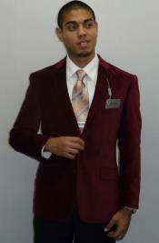 ID#RM1437 Adolfo Two Button Formal or Clubbing Sport Coat Burgundy Velvet Best Cheap Blazer For Affordable Cheap Priced Unique Fancy For Men Available Big Sizes on sale Men Sport Coats Sale Jacket