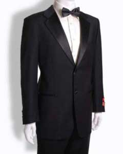 Two buttons Tuxedo Notched