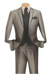 ~ Gray Suit With