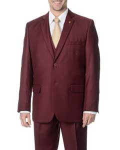 2-button Vested Suit