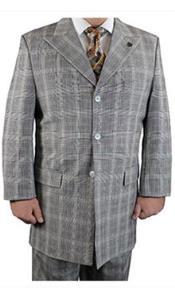 buttons Suit Plaid Window