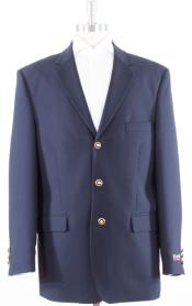 Solid Buttons Dinner Jacket