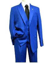 Solid Royal Falcone Suit