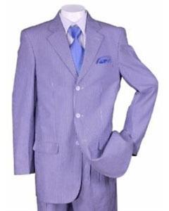 Summer seersucker Pattern Suit
