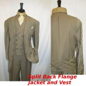 buttons Suit Jacket Matinee