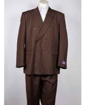 Fit Double Breasted Pinstripe