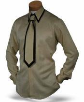 Single Button Collar Formal