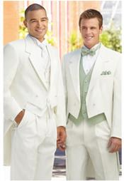 Color Vest Tailcoat Prom