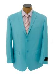 ID#BNB3 Basic Solid Plain Light Blue Perfect for wedding  ~ baby blue Jacket  Best Cheap Blazer Suit Jacket For Affordable Cheap Priced Unique Fancy For Men Available Big Sizes on sale Men Affordable Sport Coats Sale