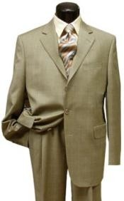 Mens Beige Color Suit
