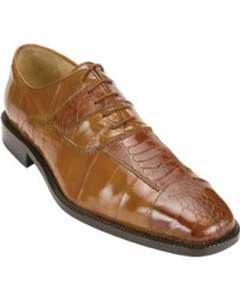 Belvedere Mare Ostrich/Eel Shoes