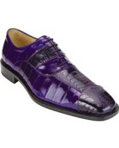 Belvedere Mare Ostrich/Eel Shoes