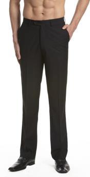 Pants Trousers Flat Front