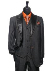 color black Denim Tuxedo