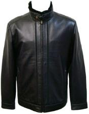 color black Lamb Leather
