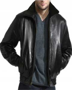 Dark color black Lambskin