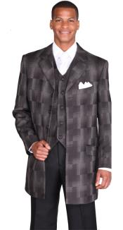 length Jacket Fashion Suit