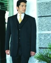 Dark color black Pinstripe