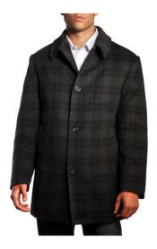 Germain Plaid Jackson overcoats