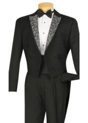 Black Tuxedo Tailcoat 4