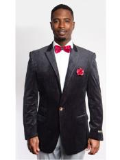 Fit Peak Lapel Black