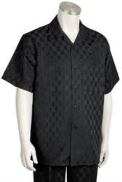 ID#KA3098 Leisure outfits walking Suit Short Sleeve 2piece outfits walking Suit