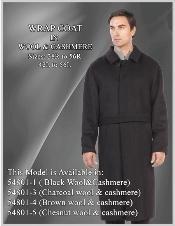 Coat in Wool fabric
