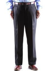 Pleated Black Pant Regular