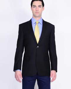 ID#MK590 Mantoni Wool fabric Best Cheap Blazer For Affordable Cheap Priced Unique Fancy For Men Available Big Sizes on sale Men Affordable Sport Coats Sale Jacket Dark color black