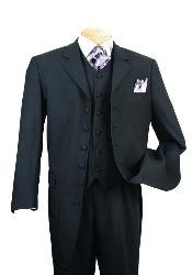 Mens Black Zoot Suit