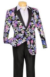 ~ Flower tux coats