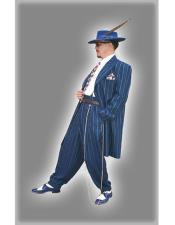 Pinstripe Striped 1920s mens
