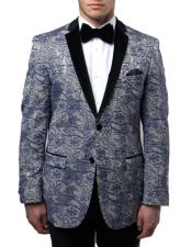 Fit Tuxedo Jacket With
