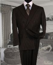 Chocolate brown Suit With