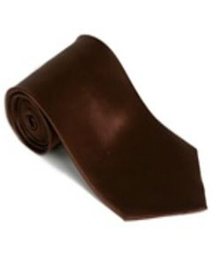 Coco Chocolate brown Silk