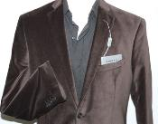 ID#RM1439 Adolfo Cotton Formal or trendy informal casual Chocolate Coco Chocolate brown Velvet Best Cheap Blazer For Affordable Cheap Priced Unique Fancy For Men Available Big Sizes on sale Men Affordable Sport Coats Sale Jacket