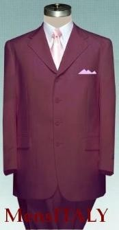 Basic Solid Plain Burgundy